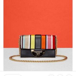 Diane von Furstenberg ribbon journee crossbody bag